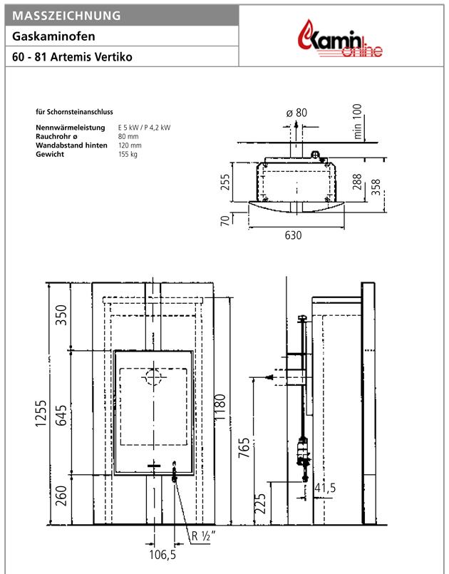 kamin fen gaskamin aus schwarzem granit von oranier serie 60 81 artemis vertiko gas inkl. Black Bedroom Furniture Sets. Home Design Ideas