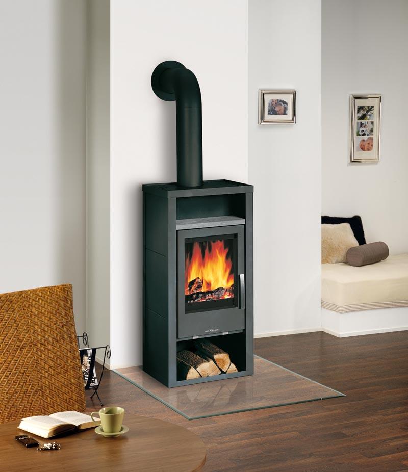 kamin fen malm stahl schwarz oranier serie 4664 6 inkl warmhaltefach platte speckstein. Black Bedroom Furniture Sets. Home Design Ideas